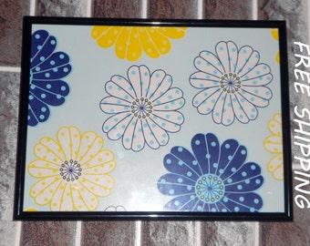 wall decor, kids room decor flowers print