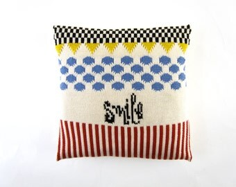 Pillow Cushion Cover SMILE