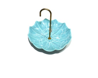 Umbrella Candy Dish Ceramic Umbrella Candy Dish Blue Umbrella Dish Baby Shower Gift Baby Boy