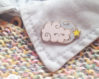 Sleepy Cloud Enamel Pin - Limited Edition