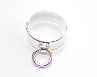 Ring of O, BDSM Ring,Sterling Silver, Handmade Classic O Ring, Ring Der O, Story of O ring.