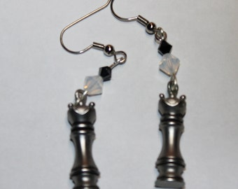 Chess Piece Earrings