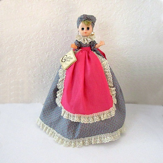 New Orleans Souvenir C 1970s Gambina Collectible Doll Toaster