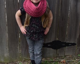 Kids Knit Cowl Scarf  >Palisades Cowl<