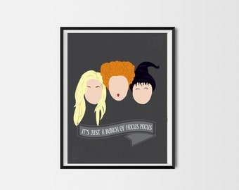 Sanderson Sisters Hocus Pocus Print