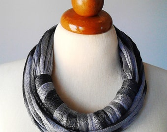 Boho scarf chunky scarf necklace scarf cotton scarf women scarf circle scarf round scarf extra long scarf infinity scarf statement necklace