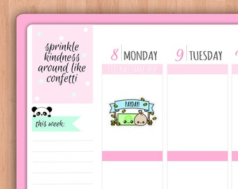 Payday PLANNER STICKERS (SWM54)