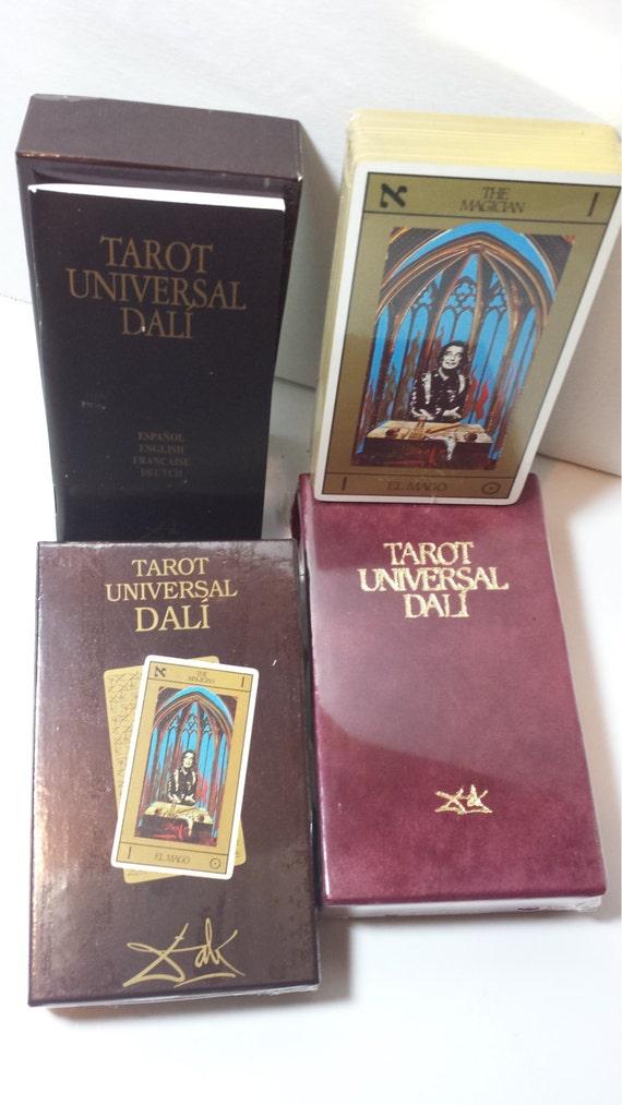 Tarot Universal Salvador Dali Cards With Velvet