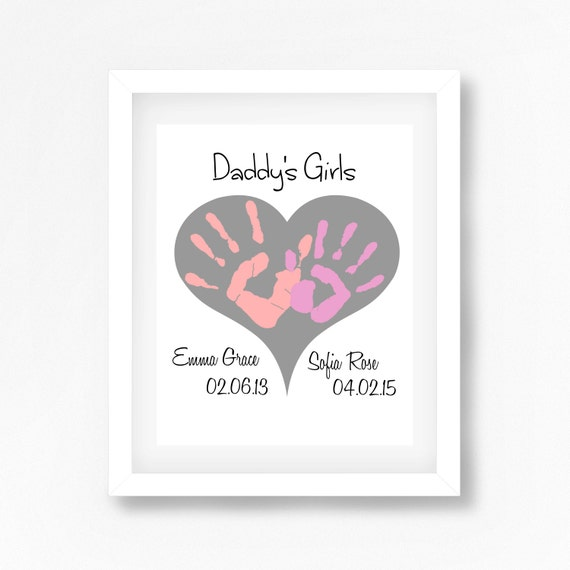 Daddy's Girls Gift Gift for Daddy from Daughters Fathers
