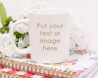 Mug Mockup / Blank Mug / Coffee Mug / Cup Mockup / Styled Mug / Styled Stock Photography / Coffee Cup / Background / StockStyle-712