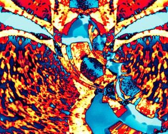 Sky Beast - Digital Art piece (Instant Download)