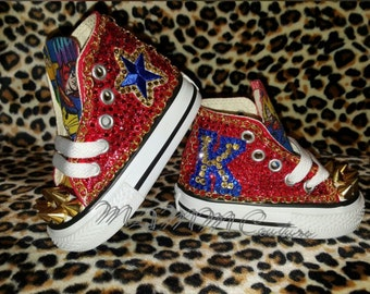 a2c2861f2e66 ... spain superman shoes childrens converse custom converse bling converse  custom chucks kids fd174 1be78 ...
