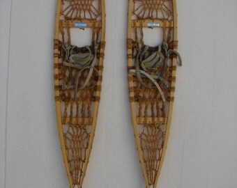 Snocraft Norway Maine Pickerel Snowshoes, 56x10, Great Condition!!!