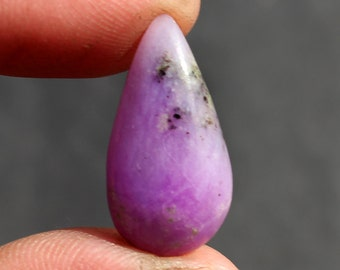 Sugilite cabochon Natural 10.1 ct (22x11x4 mm) Pear Shape gemstone - Stone of Love - NS-692