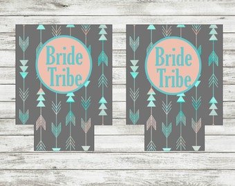 Wedding Can Coozie, Can Holder, Personalized Can Holder, Bachelorette Party