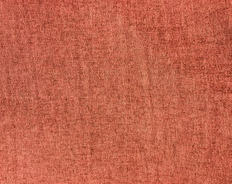 Solid Red Upholstery Drapery Fabric - Sold By the Yard - 57""