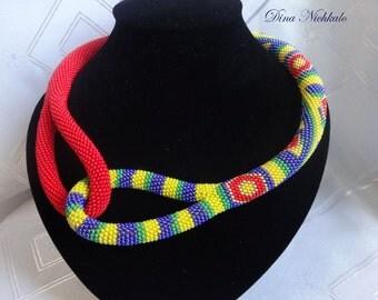 "Necklace ""Solar Africa"""