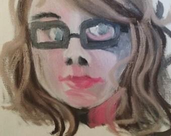 Art Commission (custom oil painting)