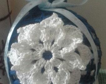 Christmas OrnamentCrochet Christmas Ornament,Crochet Christmas,Christmas Ball,Crochet Christmas Tree Decoration,Crochet Christmas