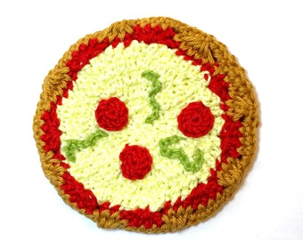 Pizza Face Cloth/ Washcloth