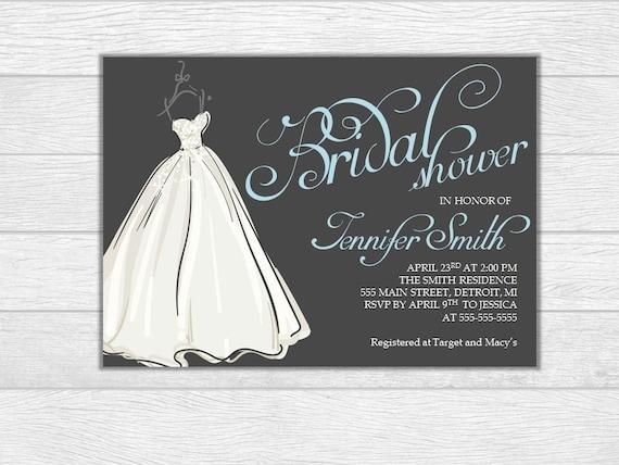 Bridal shower, bridal shower invite, bridal shower invitation, wedding, wedding invitation, printable invite, digital downlad