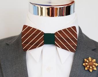 Walnut and Maple Wood Combo Kit - Suit up - Wooden Bowtie - Suits - Wood Bowtie - Men's Ties - Interchangeable Neck Strap