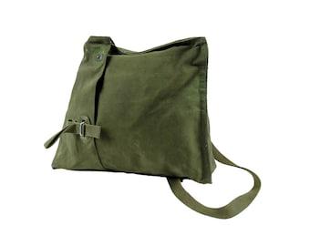 Vintage Swedish Military Shoulder Bag