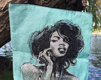 Melody Woven Tote Bag
