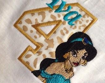 PERSONALIZED Birthday Jasmine Shirt