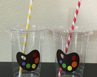 Painting party cups
