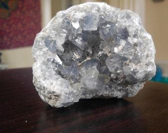 Celestite Geode Cluster