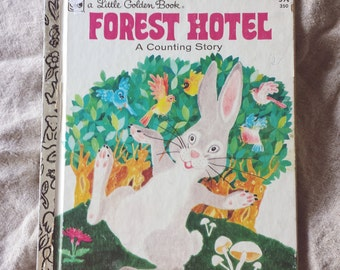 A Little Golden Book, Forest Hotel, A Counting Story