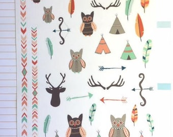 Tribal Decorative Sticker Set / A388