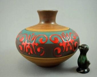 Vintage vase / Dumler & Breiden / 174 15   West Germany   WGP   70s