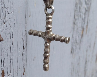 Vintage Sterling Silver Cross