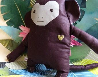 Thaddeus chimpanzee / / monkey / / plush