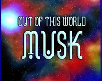 Out of this World Musk - Concentrated Perfume Oil - Love Potion Magickal Perfumerie - Private Edition