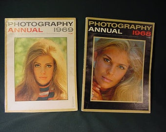 Vintage Old Collectible * Popular Photography Magazine * Annual 1968 1969
