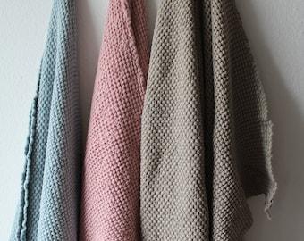 linen bath towel, Luxury linen cotton bath towel,  sauna  towel, beach throw, Linen Towel Luxury Towel Soft Linen / Cotton