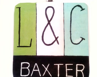 Personalized Potholder For Him and Her - Personalized Gift