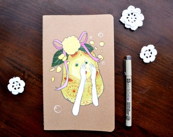 Limited Edition! Bubbles - Hand Painted Journal