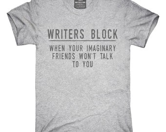Writer's Block T-Shirt, Hoodie, Tank Top, Gifts