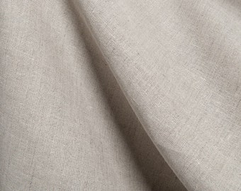 100% linen fabrics/ pure linen fabrics/Natural linen fabrics in grey by the meters