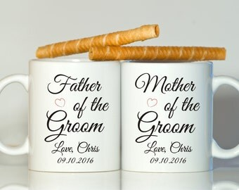 Parents of the groom gift-Father of the groom gift-Mother of the groom gift-Gift from groom-Wedding gift parents-Custom wedding gift-Groom