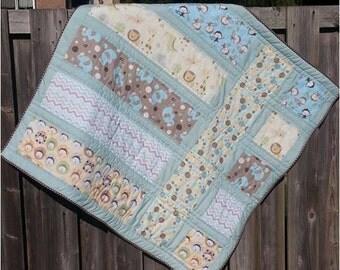 Noah's Ark - Baby Quilt Pattern - Easy Beginner Quilt Pattern