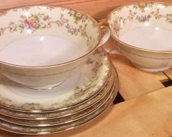 Gorgeous: Priced Per Piece- Various Meito China Japan Hand Painted Dishes