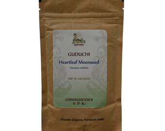 Guduchi Powder (USDA Certified Organic) - Gopala Ayurveda
