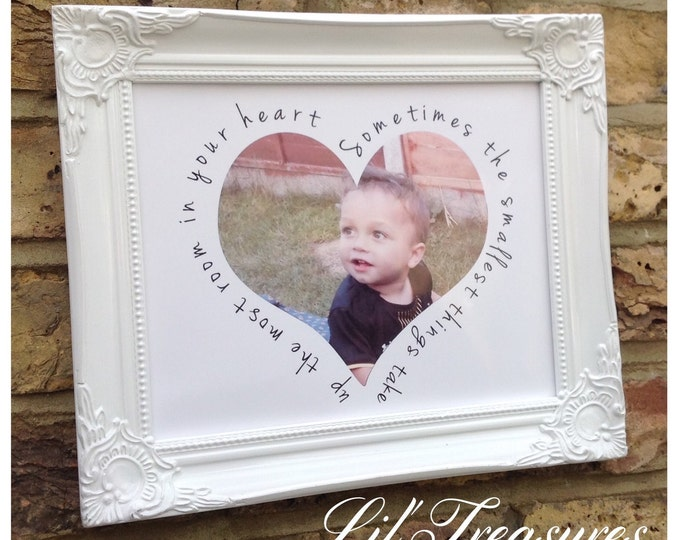 Personalised photo framed print with any quote, Special memories, Ultrasound photo print, Family, Children' photo gift, Friends, Baby gifts