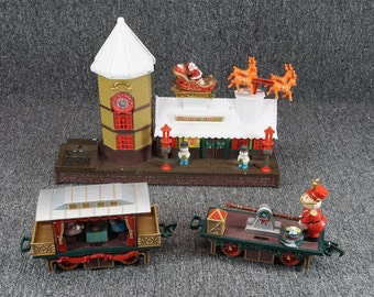 Toy State Industrial Christmas Magic Express Partial Set