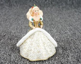 Vintage Hallmark Keepsake Ornament Collector's Series Holiday Barbie C.1994